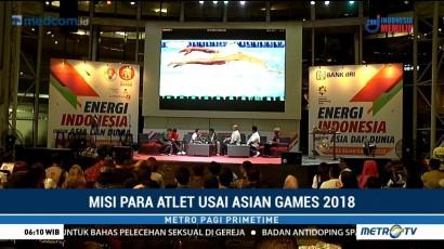Misi Para Atlet Usai Asian Games 2018