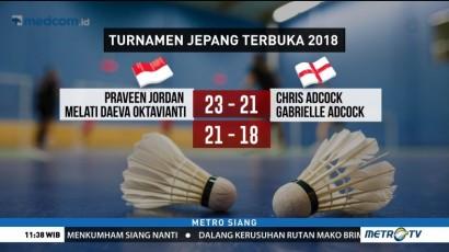 Praveen/Melati Lolos ke Perempat Final Jepang Terbuka 2018
