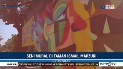 Indahnya Mural Karya Seniman Kolombia di Taman Ismail Marzuki