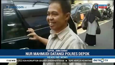 Nur Mahmudi Penuhi Panggilan Kedua Polres Depok