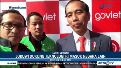 Jokowi Hadiri Peluncuran Gojek di Vietnam