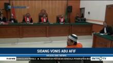 Terdakwa Terorisme Abu Afif Divonis 11 Tahun Penjara