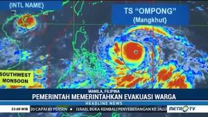 Topan Terkuat Tahun Ini akan Terjang Filipina
