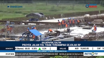 Pelemahan Rupiah Tak Ganggu Proyek Jalan Tol