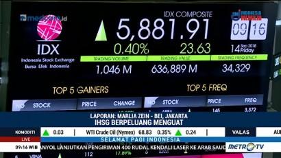 IHSG Dibuka Menguat, Rupiah Melemah