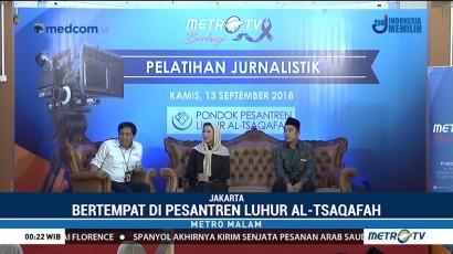 Metro TV Gelar Pelatihan Jurnalistik di Pesantren Luhur Al Tsaqafah