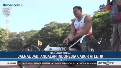 Sprint Kursi Roda Siap Raih Emas Asian Para Games 2018