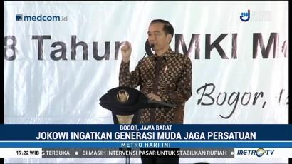Jokowi Ingatkan Pentingnya Persatuan dan Kerukunan Bangsa