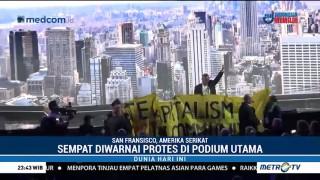 Konferensi Perubahan Iklim di San Francisco Diwarnai Aksi Protes