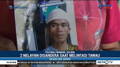 Dua Nelayan Asal Sulbar Disandera Abu Sayyaf