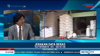 Bedah Editorial MI: Jebakan Data Beras