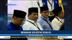Menakar Soliditas Koalisi Prabowo-Sandiaga