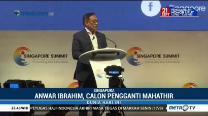 Anwar Ibrahim Tak Masalah Jadi Pengganti Mahathir