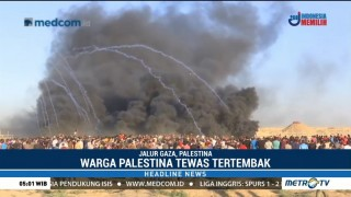 Dua Warga Palestina Tewas Akibat Bentrok dengan Israel