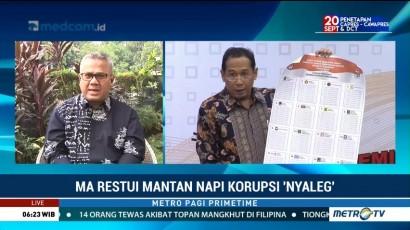 MA Restui Mantan Napi Korupsi <i>Nyaleg</i> (1)