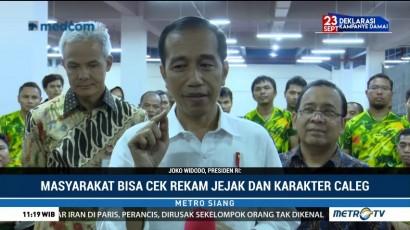 Jokowi Hormati Putusan MA Terkait Eks Koruptor <i>Nyaleg</i>