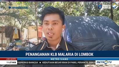 KLB Malaria, Dinkes Lombok Barat Lakukan Pengasapan di Pengungsian