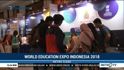 World Education Expo Indonesia 2018 Diikuti 100 Universitas dari 14 Negara