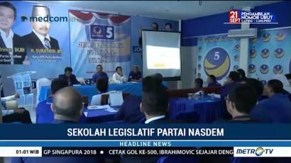 Kader NasDem Kota Tangerang Ikuti Sekolah Legislatif