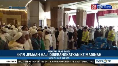 Jemaah Haji Indonesia Gelombang Kedua Singgah 10 Hari di Madinah