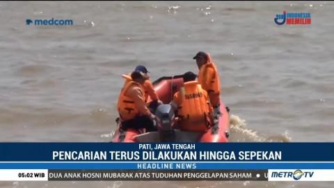 Pencarian Nelayan Hilang di Perairan Pati Belum Ditemukan
