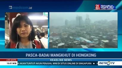 Pasca Topan Mangkhut, Situasi Hong Kong Mulai Kondusif