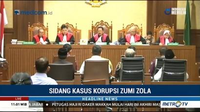 8 Saksi Dihadirkan di Sidang Lanjutan Zumi Zola