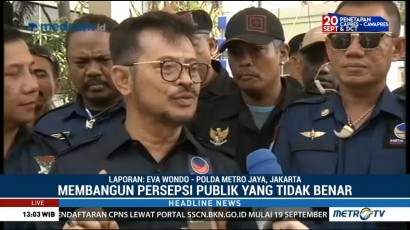 NasDem Laporkan Rizal Ramli ke Polda Metro