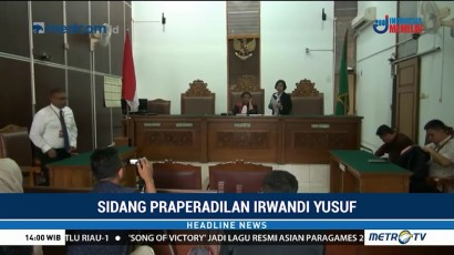 PN Jaksel Gelar Sidang Praperadilan Irwandi Yusuf