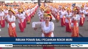 2 Ribu Penari Tenun Bali Pecahkan Rekor MURI