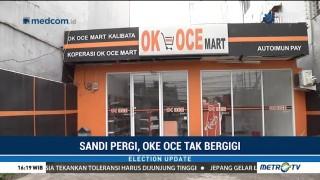 Sandi Pergi, OK OCE Mart Tak Bergigi