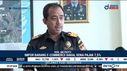 Mulai Oktober, Impor Barang e-Commerce Bakal Kena Pajak 7,5%
