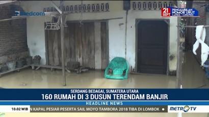 Ratusan Rumah di Sumut Terendam Banjir
