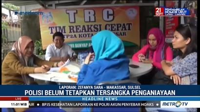 Polisi Belum Tetapkan Tersangka Kasus Penganiayaan 3 Anak di Makassar