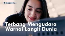 Serunya Warnai Langit Dunia di HUT PT Dirgantara Indonesia
