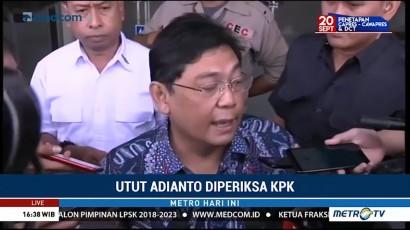 Utut Adianto Diperiksa KPK Terkait Kasus Korupsi Bupati Purbalingga