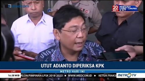 Utut Adianto Diperiksa KPK Terkait Kasus Korupsi Bupati
