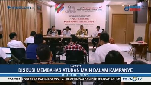 Tim Kampanye Jokowi Gelar Diskusi Bersama Bawaslu