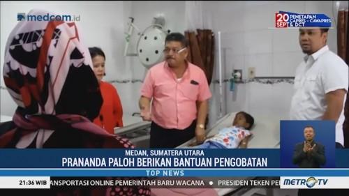 Prananda Paloh Berikan Bantuan untuk Anak Pengidap Thalassemia