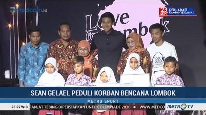 Sean Gelael Galang Dana untuk Korban Gempa Lombok