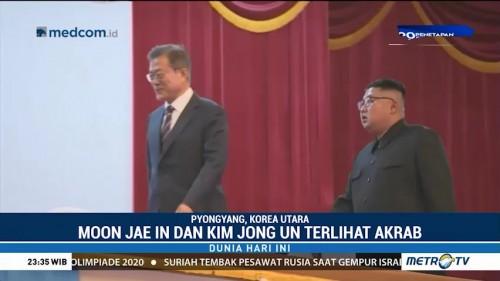 Saat Dua Pemimpin Korea Saksikan Orkestra