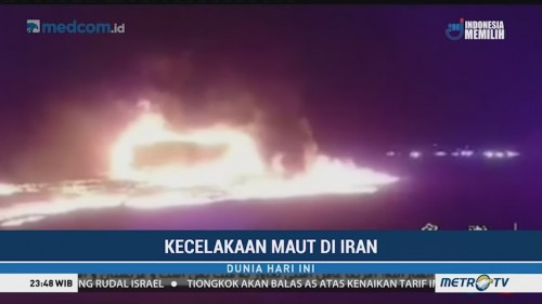 Kecelakaan Maut di Iran, 21 Orang Tewas