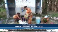 Warga Polewali Mandar Gunakan Air Tak Layak Pakai Akibat Kekeringan