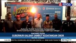 Gubernur Kalbar Sambut Kedatangan Obor Asian Para Games 2018