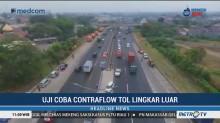<i>Contraflow</i> Diberlakukan di Tol JORR Cikunir Arah Pondok Indah