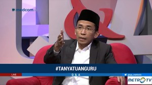 TGB Bantah Dukung Jokowi untuk Berlindung