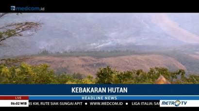 50 Hektare Hutan di Gunung Ciremai Terbakar