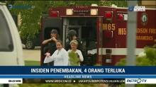 Insiden Penembakan di AS, Empat Orang Terluka