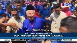Mantan PM Najib Razak Ditahan KPK Malaysia