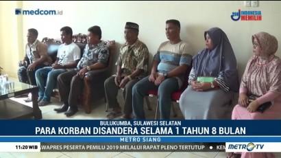 Keluarga Tunggu Kedatangan 3 WNI Sandera Abu Sayyaf di Bulukumba